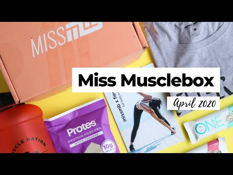 Miss Musclebox Unboxing April 2020: Fitness Subscription Box