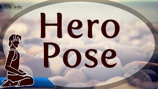 Hero Pose - Yoga For Men