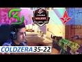 coldzera POV 35-22 CS:GO - SK vs Astralis [Dust 2] ELEAGUE Major 2017