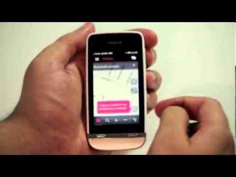 Smartphone Nokia Asha 311 Desbloqueado Câmera 3.2m 3G Wifi