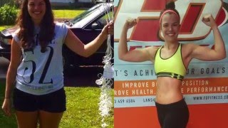 Iza's Body Transformation