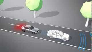 Mercedes C-Klasse W205 - Assistenzsystem - Collision Prevention Assist Plus // Mercedes-Fans.de