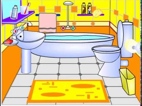 اجزاء المنزل الحمام باللغة العربية Youtube