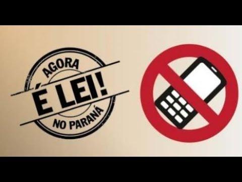 Agora é Lei - Proibição de celular