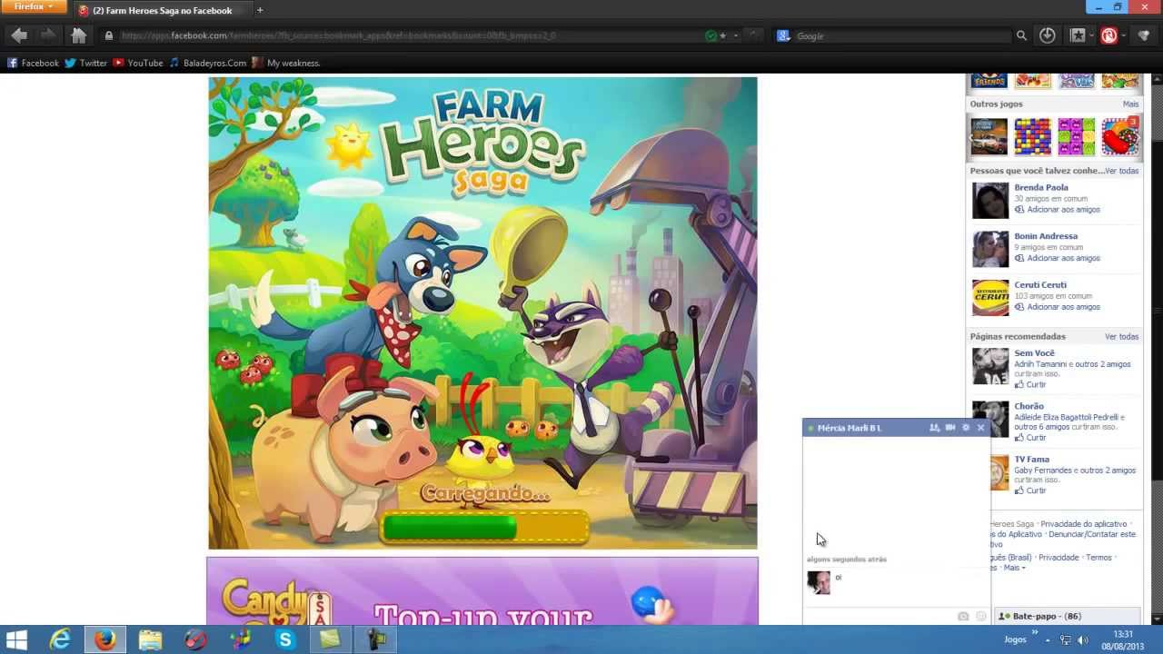 Como Hackear Farms Heroes Saga no Facebook - Usando Cheat ...