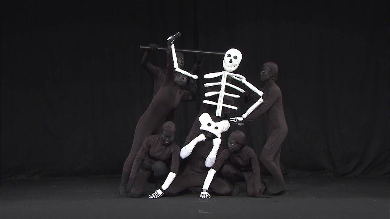 頭がい骨でスポーツ/Skull Athlete【仮装大賞official】