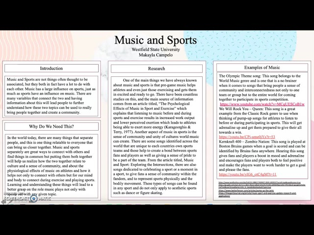 Music and Sports