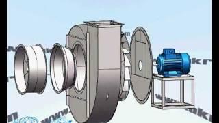 Дымосос ДН-12,5 - тягодутьевое оборудование(, 2012-02-23T07:26:30.000Z)
