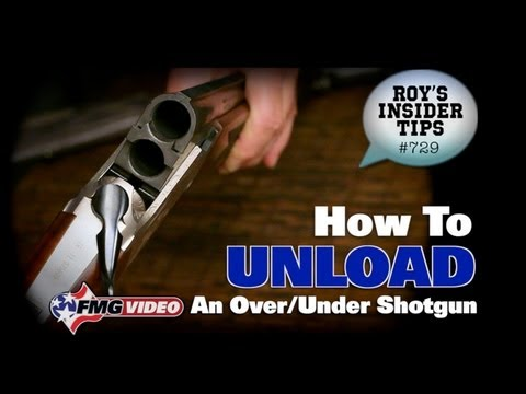 Unloading An Over/Under Shotgun