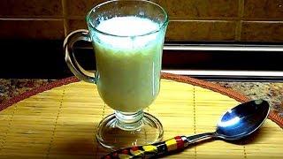 Как очень быстро за 2 минуты сделать кефир из молока.