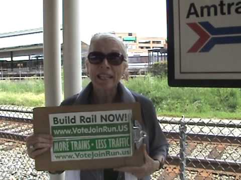 Green Party Rail for Gail