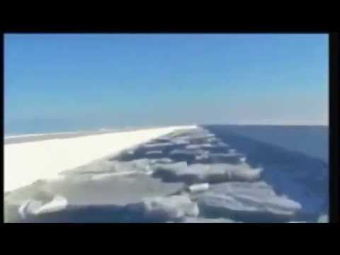 ANTARCTIC after Orbital Particle beam weapons test
