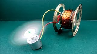 How to make free energy fan with Speaker magnet - New Experiments at home