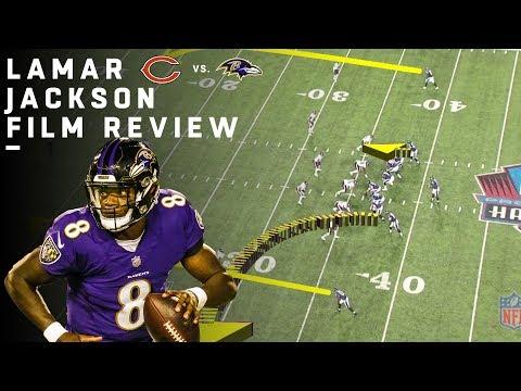 Breaking Down Lamar Jackson's NFL Debut | Film Review | NFL Highlights