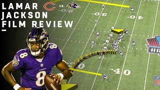 Breaking Down Lamar Jackson's NFL Debut | Film Review | NFL Highlights