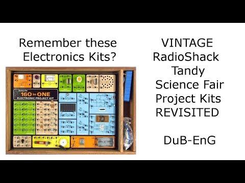 DuB-EnG: RadioShack Tandy 160 in 1 Science Fair Electronics Project Kit Old Vintage Nostalgia Nerd