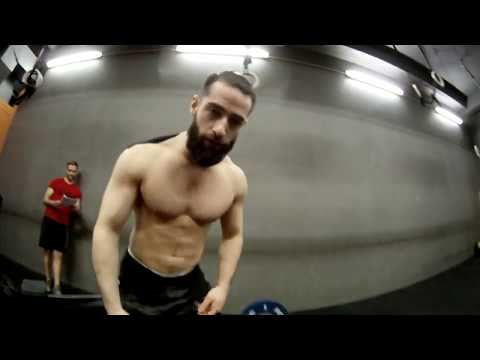 Guillaume Piffeteau affiliates battle wod1 crossfit workout CFXIII