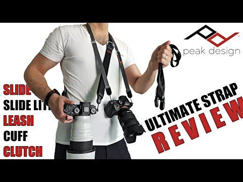 ALL Peak Design Camera Straps (V3) Reviewed (Slide, Slide Lite, Leash, Cuff, Clutch) Full Review