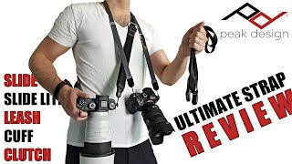 ALL Peak Design Camera Straps (V3) Reviewed (Slide, Slide Lite, Leash, Cuff, Clutch) Full Review