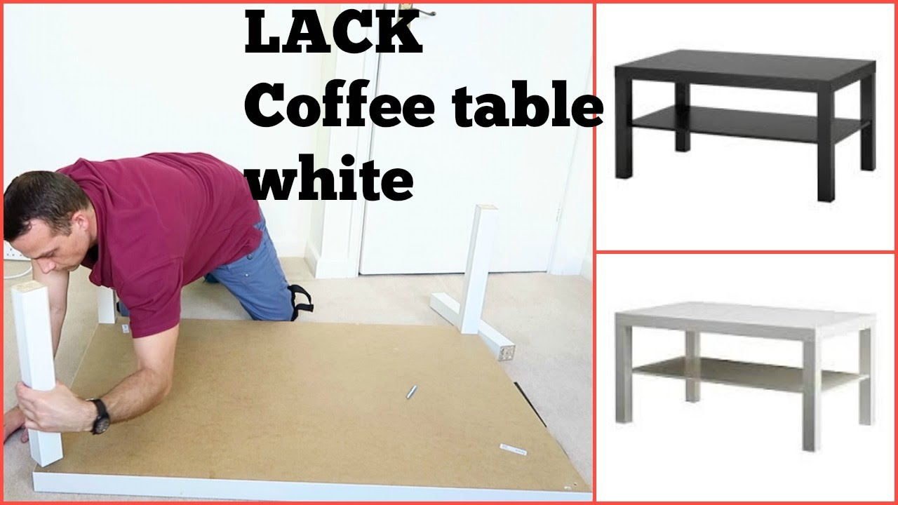Ikea lack coffee table youtube ikea lack coffee table geotapseo Gallery