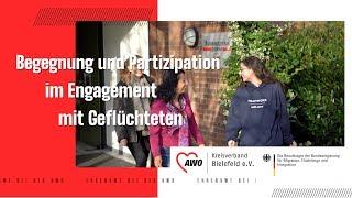 """AWO Projekt """"Begegnung und Partizipation im Engagement mit Geflüchteten"""" - Einspieler"""