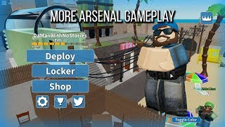 Accidentally Finding A Glitch In Arsenal | ROBLOX Arsenal