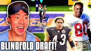 THE MOST INTENSE ENDING EVER! DRAFTING BLINDFOLDED! Madden 20 Superstar KO