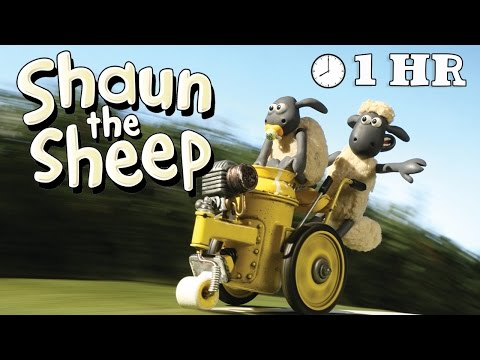 Shaun the Sheep - Season 2 - Episode 01 -10 [1HOUR]