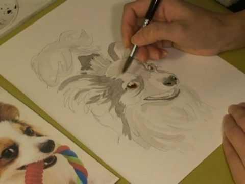 イラスト イラストの描き方 水彩画 Youtube