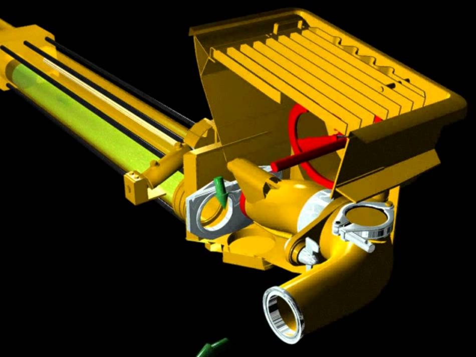 Funcionamento Bomba De Concreto Modelo Tubo S Http