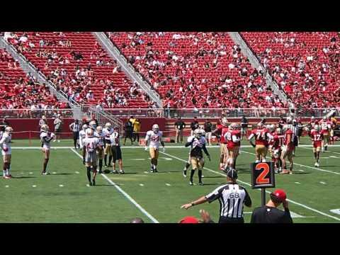 San Francisco 49ers Open Practice 8-5-2017 Levi's Stadium Scrimmage