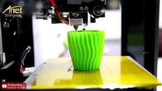 anet a3 full acrylic frame assembled 3d printer