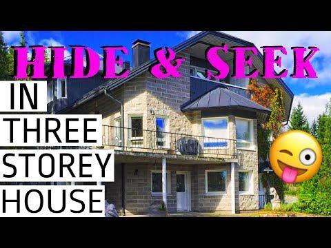 Hide & Seek in Three Story House.(#repost)
