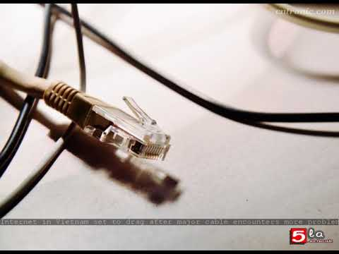 Internet in Vietnam set to drag after major cable encounters more problems