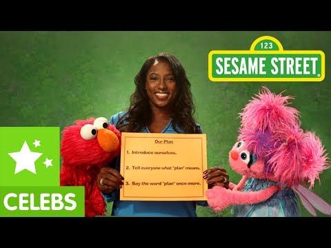 Sesame Street: Rutina Wesley and Elmo make a Plan
