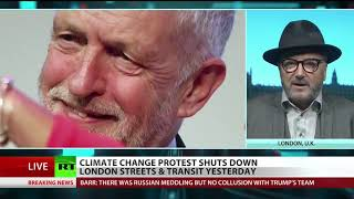 UK climate protesters glue, chain themselves to buildings