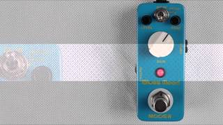 Mooer Blues Mood Blues Drive micro compact pedal