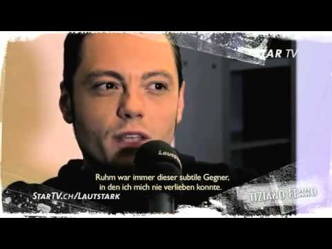 Tiziano Ferro talks about fame