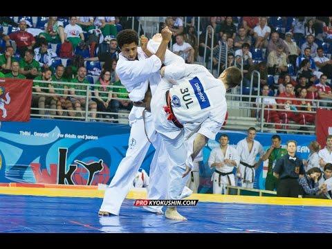 WKO EC 2016, 1/4 +85 Valeri Dimitrov (Bulgaria, aka) - Jean-paul Jacquot (France)