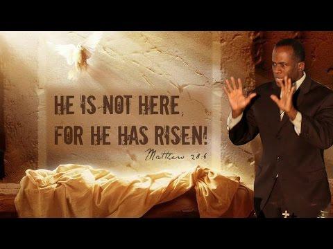 Dr Gene James- He is Not Here; He is Risen