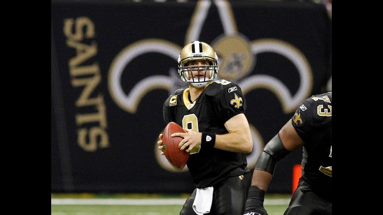 Saints quarterback Drew Brees ready to set another NFL record - YouTube bbb7b6b98