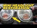 Mini Cooper Headlight Restoration