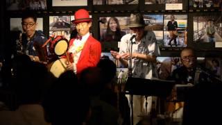 雨の北沢緑道 - ペーソス feat. 東京チンドン倶楽部 2015.6.12.Fri. Gra...