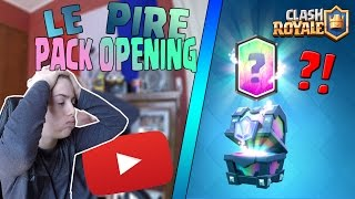 MICHOU - LE PIRE PACK OPENING DE TOUT LE YOUTUBE GAME ! (Clash Royale)