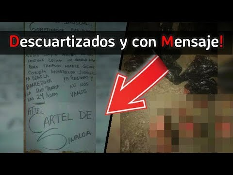 Mensaje del Cartel de Sinaloa para