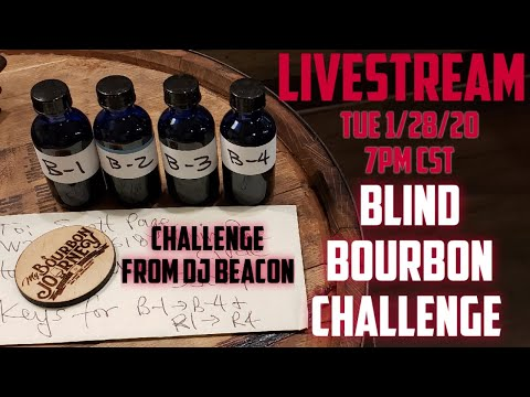 Blind Bourbon Challenge