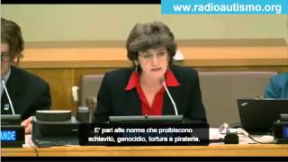 prof. Mary Holland all'ONU parte 1 : se hai dubbi sui vaccini sei antivaccinista
