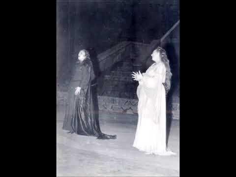 Wagner - Lohengrin - Elsa - Ortud Scene - Renata Tebaldi, Elena Nicolai (San Carlo, 1954)