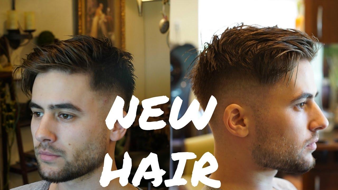 Modern Fringe Haircut Easy Mens Summer Hairstyle 2018
