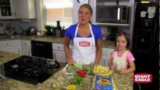 Cooking With Kids In The Kitchen - Colorful Pasta Salad Recipe | Giant Eagle®